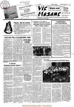 35e année - n°14 - 4 avril 1980