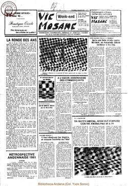 36e année - n°1 - 8 janvier 1982
