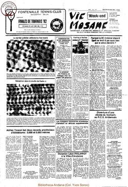 36e année - n°30 - 20 août 1982