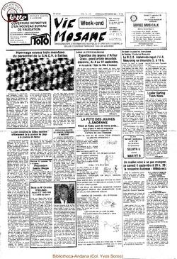 36e année - n°32 - 3 septembre 1982