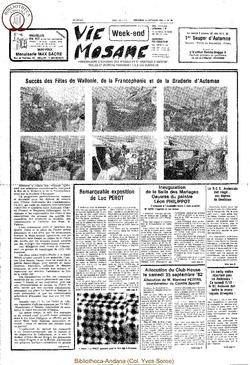 36e année - n°36 - 1 octobre 1982