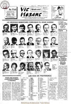 36e année - n°38 - 15 octobre 1982