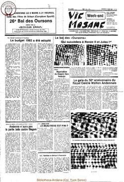 36e année - n°9 - 5 mars 1982