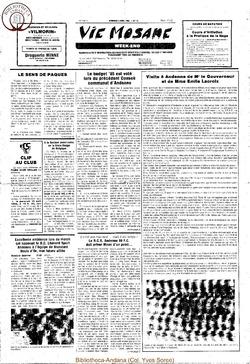 39e année - n°13 - 5 avril 1985