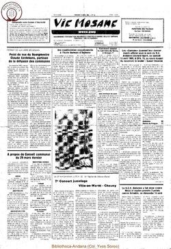 39e année - n°14 - 12 avril 1985