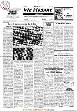 39e année - n°18 - 10 mai 1985