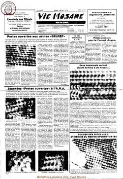 39e année - n°22 - 7 juin 1985