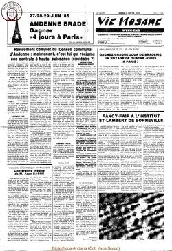 39e année - n°24 - 21 juin 1985