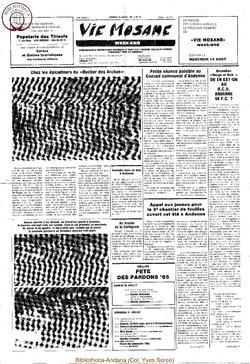 39e année - n°27 - 12 juillet 1985