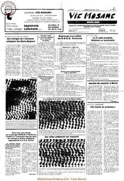 39e année - n°28 - 16 août 1985