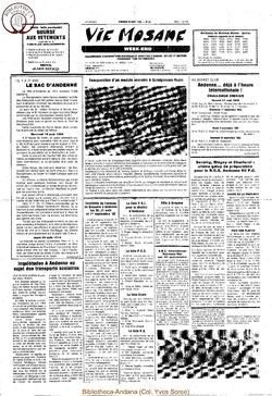 39e année - n°29 - 23 août 1985