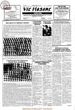 39e année - n°30 - 30 août 1985