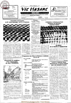 39e année - n°31 - 6 septembre 1985