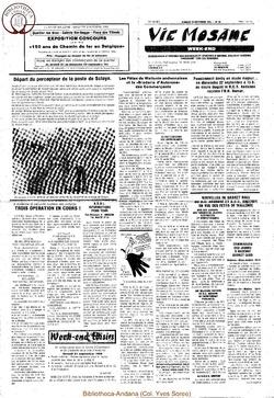 39e année - n°33 - 20 septembre 1985