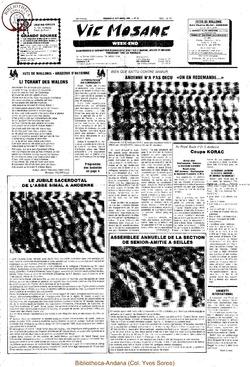 39e année - n°34 - 27 septembre 1985