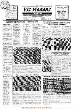 39e année - n°36 - 11 octobre 1985
