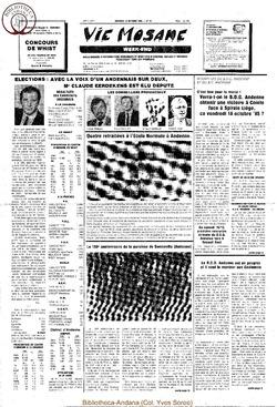 39e année - n°37 - 18 octobre 1985