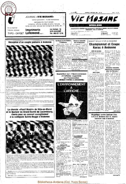 39e année - n°38 - 25 octobre 1985