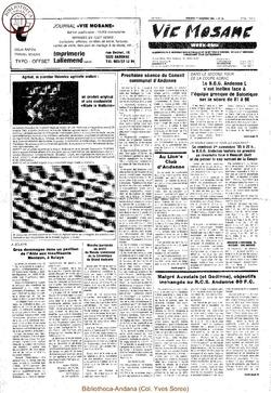 39e année - n°39 - 1 novembre 1985