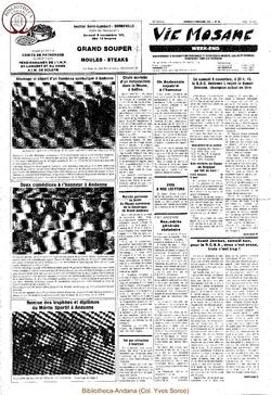 39e année - n°40 - 8 novembre 1985