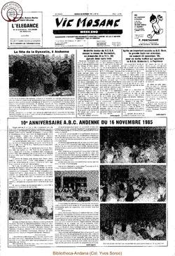 39e année - n°42 - 22 novembre 1985