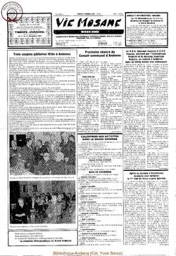 39e année - n°44 - 6 décembre 1985