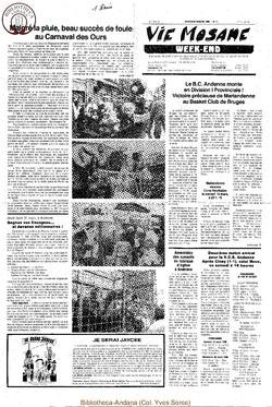 42e année - n°11 - 18 mars 1988