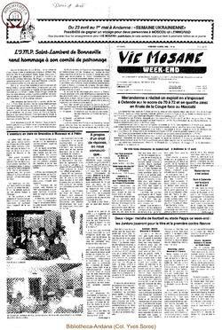 42e année - n°15 - 14 avril 1988