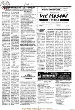 42e année - n°28 - 19 août 1988