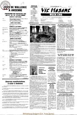 42e année - n°31 - 9 septembre 1988