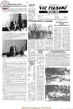 42e année - n°39 - 11 novembre 1988