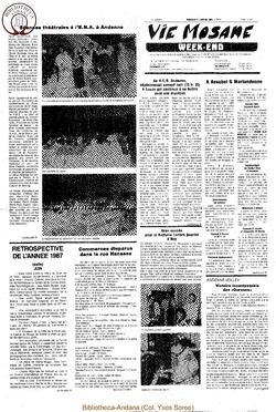42e année - n°4 - 29 janvier 1988