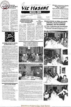 42e année - n°41 - 25 novembre 1988