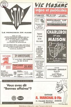 47e année - n°10 - 18 mars 1993