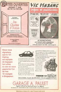47e année - n°15 - 22 avril 1993