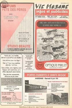 47e année - n°21 - 3 juin 1993