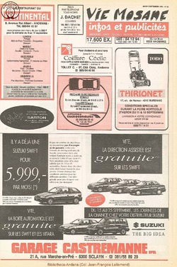 47e année - n°31 - 9 septembre 1993