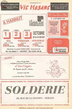 47e année - n°34 - 30 septembre 1993