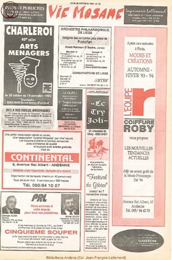 47e année - n°38 - 28 octobre 1993
