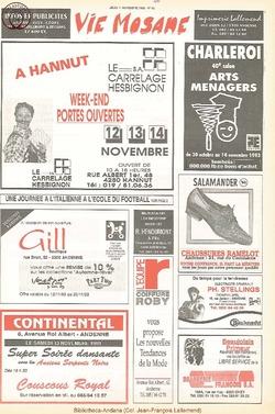 47e année - n°40 - 11 novembre 1993