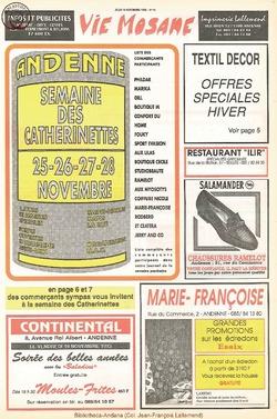 47e année - n°41 - 18 novembre 1993