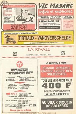47e année - n°8 - 4 mars 1993