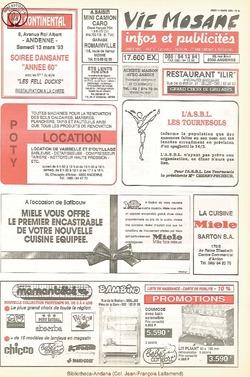 47e année - n°9 - 11 mars 1993