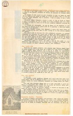 1968 Andana ad Septem ecclesias - Andenne aux Sept églises