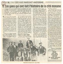 9. Ces gens qui ont fait l'histoire de la cité mosane.