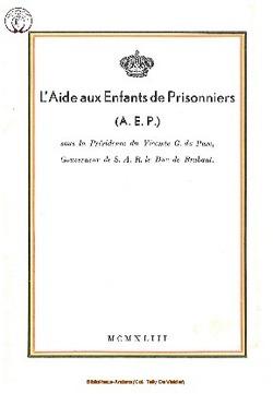 L'Aide aux Enfants de Prisonniers