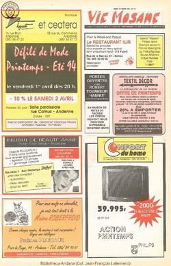 48e année - n°13 - 31 mars 1994