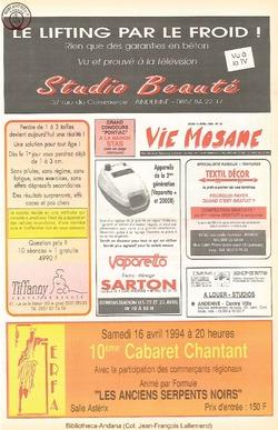 48e année - n°15 - 14 avril 1994