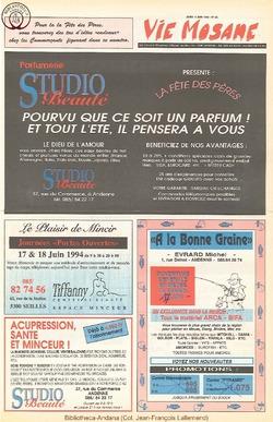 48e année - n°23 - 9 juin 1994