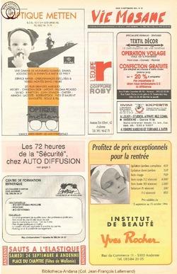 48e année - n°33 - 15 septembre 1994